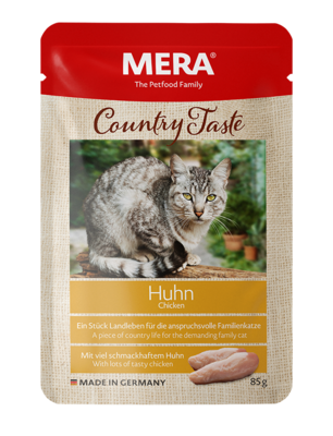 21:MERA Country Taste Chicken wet food for the family cat