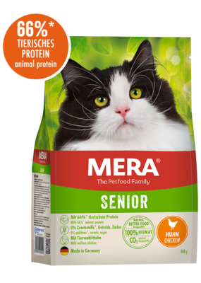 24:MERA Cats Senior Mit Huhn