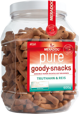 17:MERADOG pure goody snacks turkey & rice
