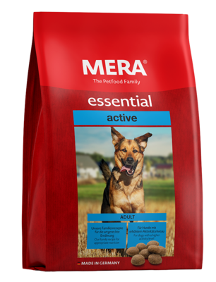 23:MERA essential active For dogs with high energy requirements