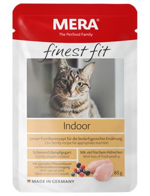 13:MERA finest fit Indoor Nassfutter für Hauskatzen