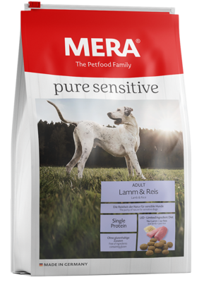 20:MERA pure sensitive lamb & rice for dogs with food sensitivities