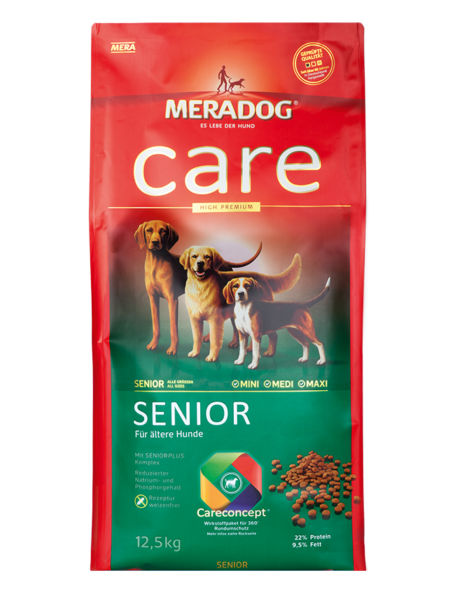 Dog food Meradog care senior
