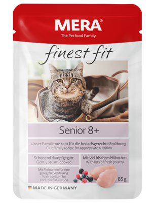 22:MERA finest fit Senior 8+ Wet food for older cats