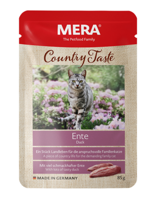 21:MERA Country Taste Duck wet food for the family cat