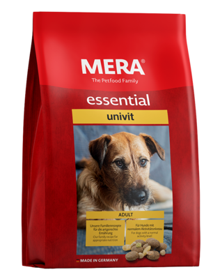 23:MERA essential univit The mixed menu for adult dogs with normal energy requirements