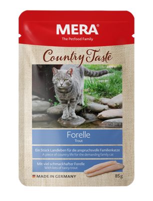 21:MERA Country Taste Trout wet food for the family cat