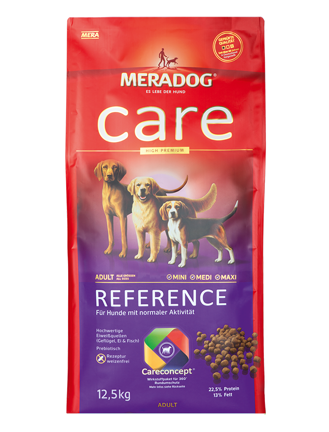 Dog food Meradog care reference