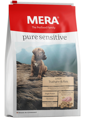 20:MERA pure sensitive Junior turkey & rice for the young, sensitive dog