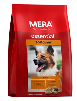 23:MERA essential softdiner The mixed menu for adult dogs with higher energy requirements