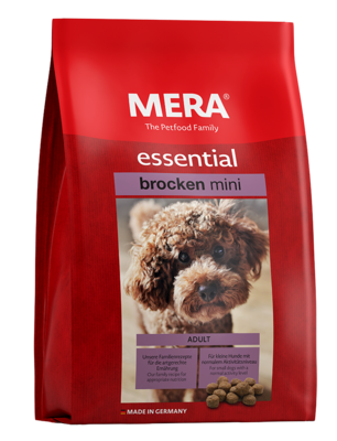 23:MERA essential Mini brocken For small dogs with normal activity level