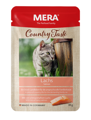 21:MERA Country Taste Salmon wet food for the family cat