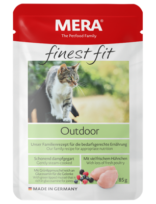 22:MERA finest fit Outdoor Wet food for nature-loving cats
