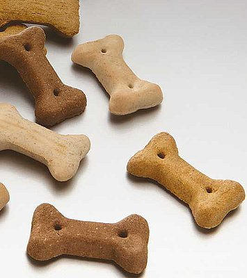 11:MERA Snacks Miniknochen Mix knuspriger Hundesnack in mini Knochenform