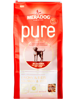 17:MERADOG pure adult salmon & rice