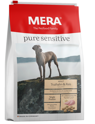 12:MERA pure sensitive Truthahn & Reis für sensible Hunde