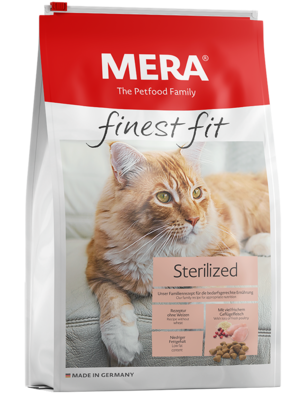 22:MERA finest fit Sterilized Dry food for sterilised or castrated cats