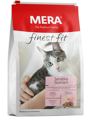 22:MERA finest fit Sensitive Stomach Dry food for sensitive cats