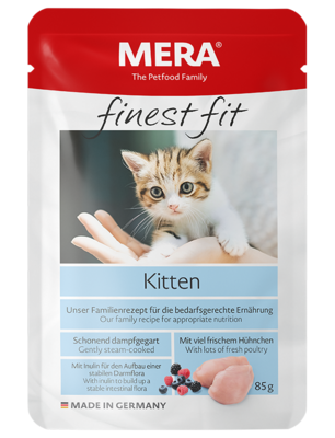 22:MERA finest fit Kitten Wet food for growing cats