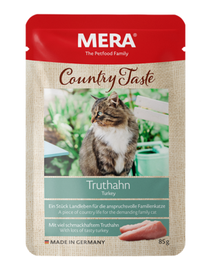 21:MERA Country Taste Turkey wet food for the family cat