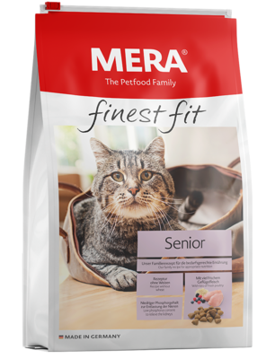 22:MERA finest fit Senior 8+ Dry food for older cats