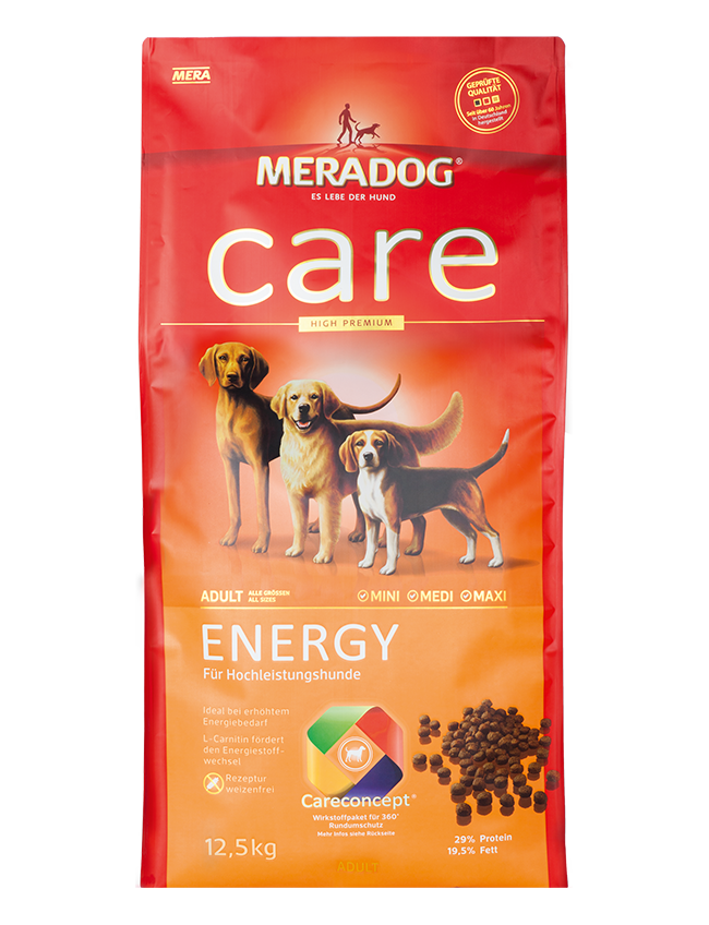 Dog food Meradog care energy