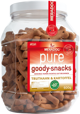 17:MERADOG pure Meradog pure goody snacks turkey & potato