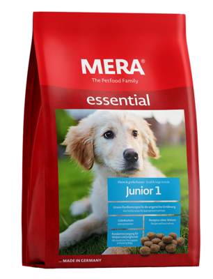 23:MERA essential Junior 1 All-round care for puppies and young dogs