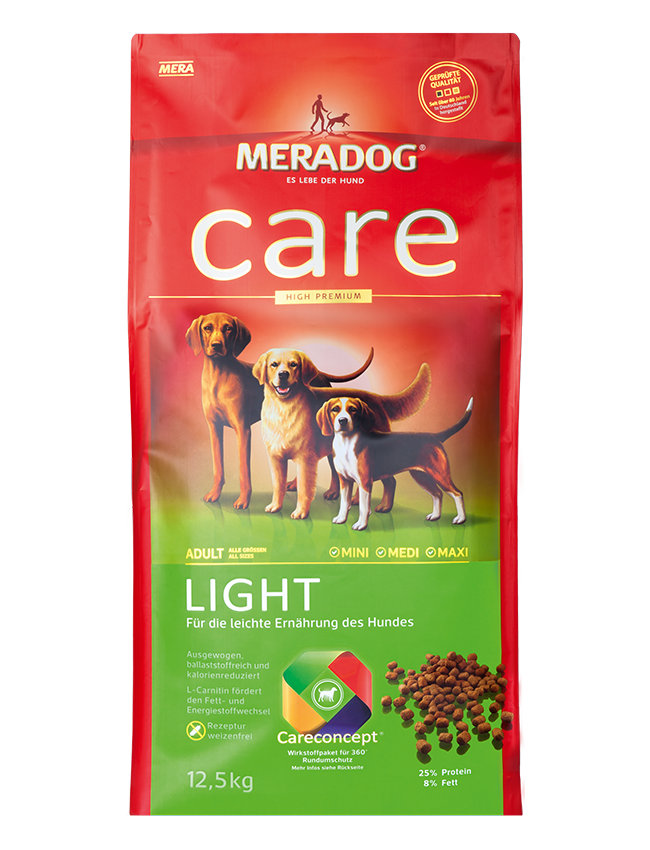 Dog food Meradog care light