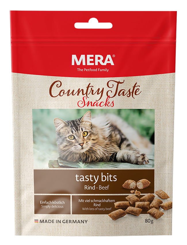 Cat food MERA Country Taste Beef tasty bits