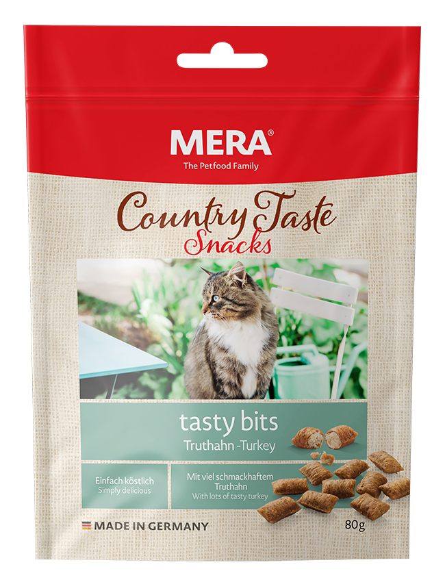 Cat food MERA Country Taste Turkey tasty bits
