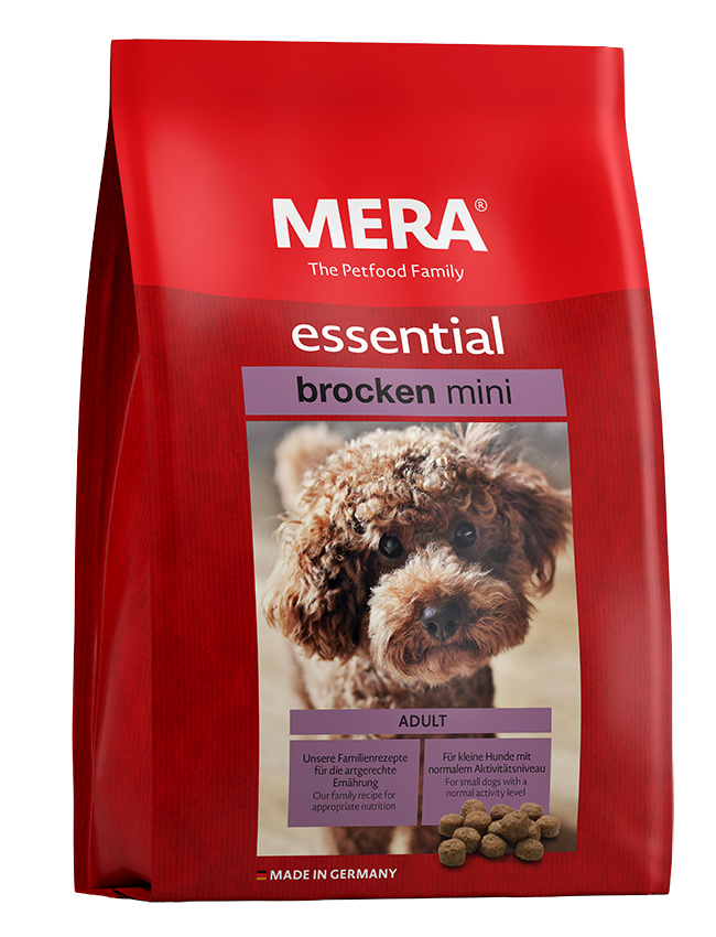 Dog food MERA essential Mini brocken For small dogs with normal activity level