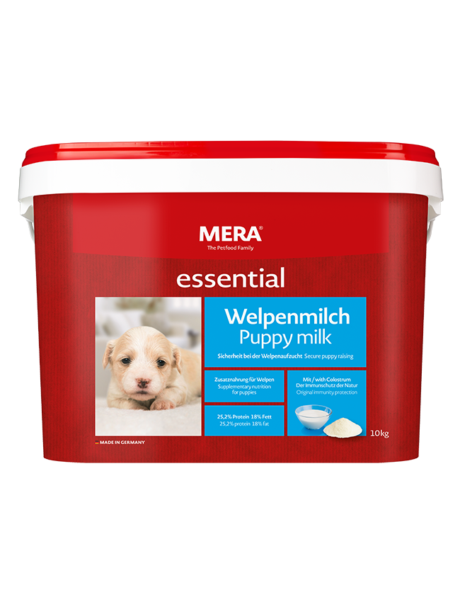 Dog food MERA essential Puppy milk High-quality supplementary food for puppies