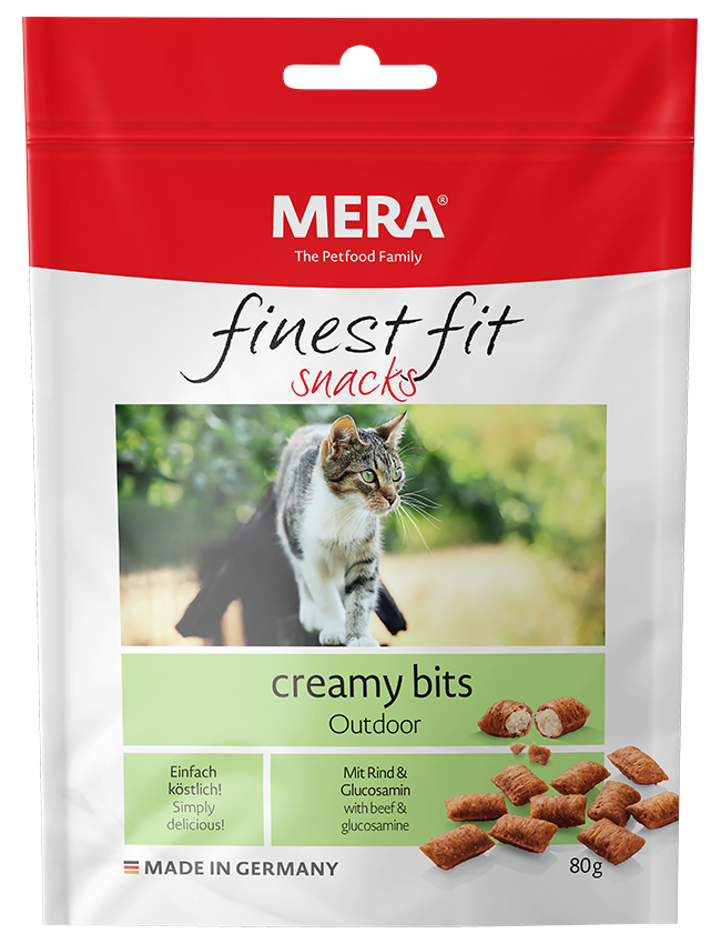 Cat food MERA finest fit creamy bits outdoor Snack for outdoor cat