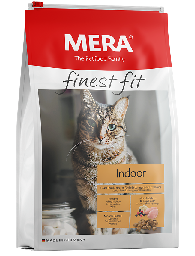 Cat food MERA finest fit Indoor dry food for domestic cats