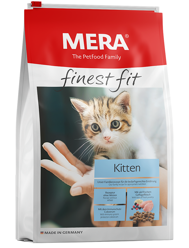 Cat food MERA finest fit Kitten Dry food for growing cats