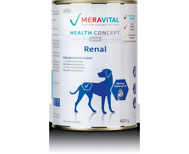 Nierendiät für Hunde