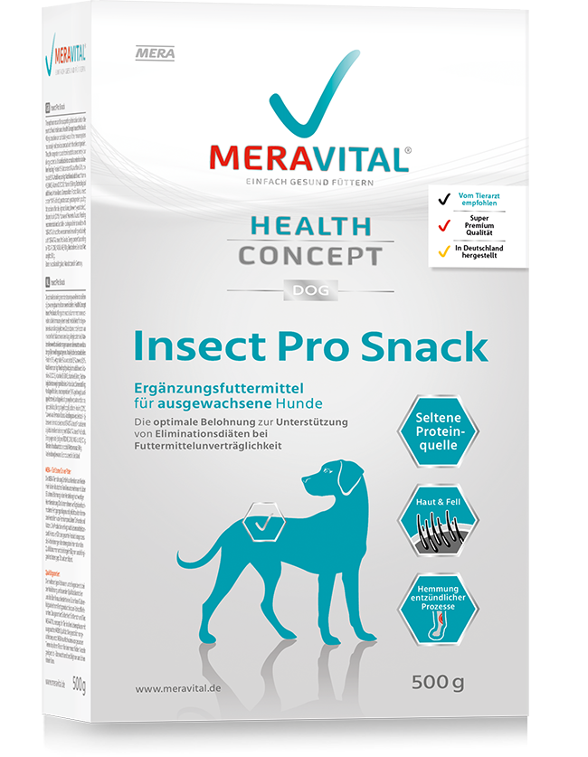 Hundefutter MERAVITAL - INSECT PRO SNACK