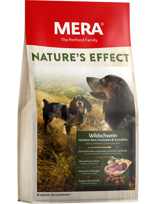 Dog food Nature´s Effect EFFECT Wild boar with beetroot, parsnips & potatoes