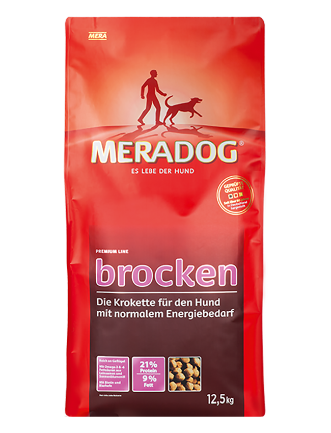 Dog food MERADOG premium brocken